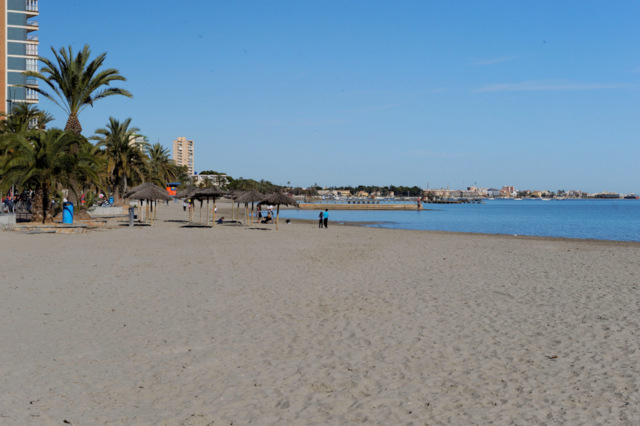 San Javier beaches: Playa de Colón