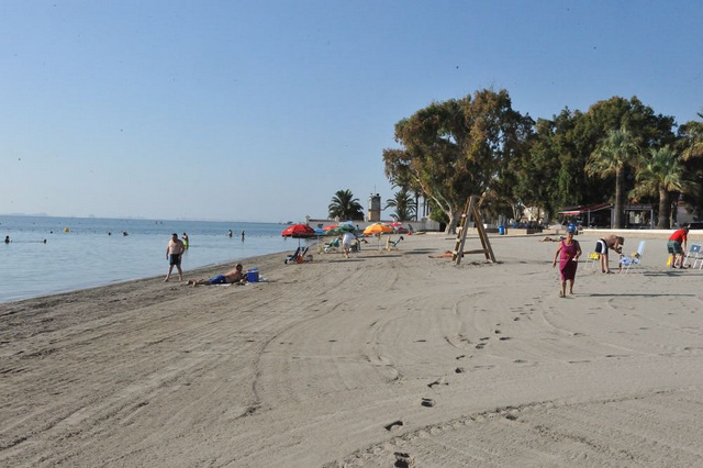 San Javier beaches: Playa de Barnuevo