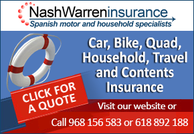 Nash Warren Insurance Bolnuevo Murcia