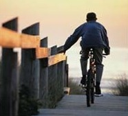 Enjoy the Mar Menor on a Rental Bicycle, Bike hire in the Mar Menor.