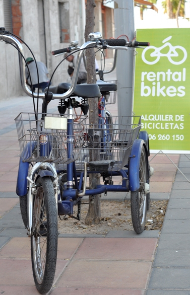 Bike Rental, Bicycle Hire, Cycle Repairs & Sales. Enjoy the Mar Menor on a Rental Bicycle.