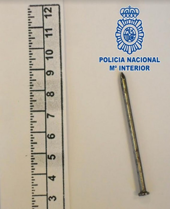 Octogenarian vandal detained by Murcia police
