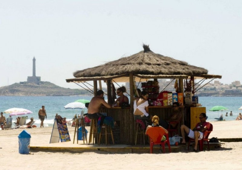 Hopes rise that Cartagena beach bars will be in place for June