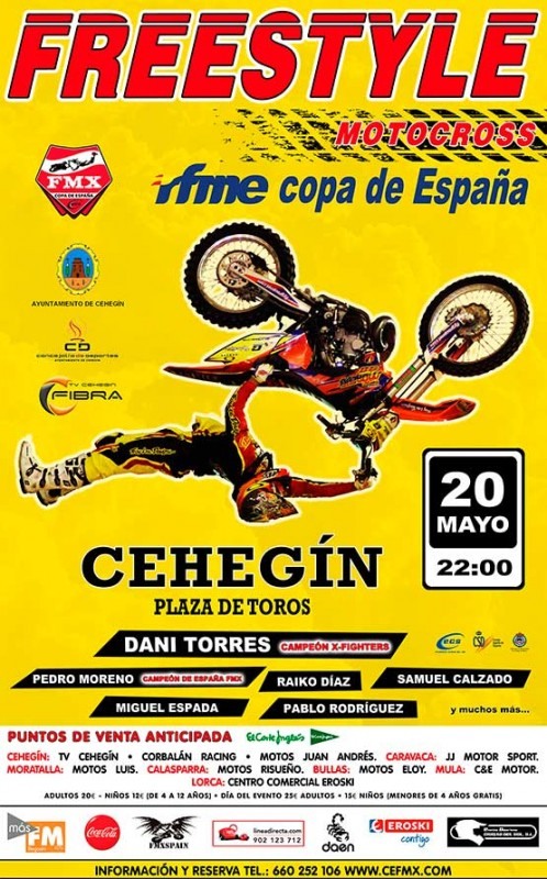 20th May Cehegín MotoCross Freestyle