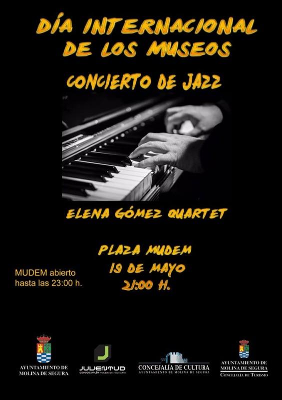19th May free Jazz concert at the MUDEM Molina de Segura