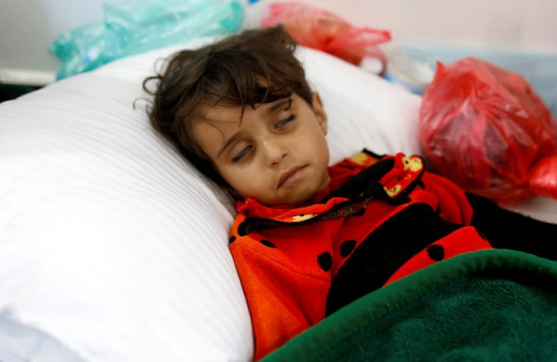 Yemen cholera cases could hit 300,000 within six months