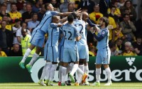 Manchester City romp to win at Watford to ensure third place