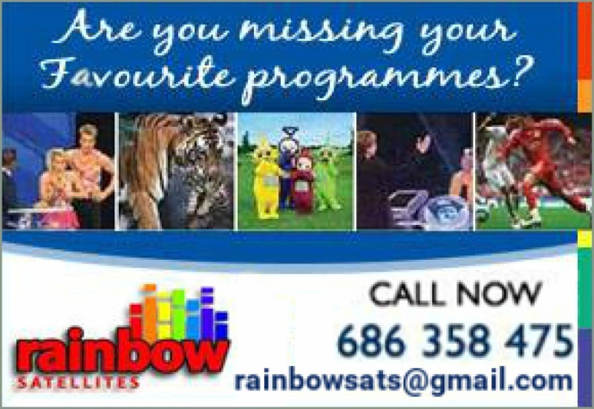 Watch UK TV channels with satellite and internet tv solutions from Rainbow Satellites
