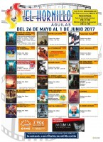 26th May to 1st June: El Hornillo cinema programme Águilas