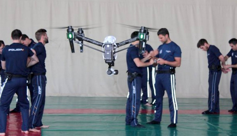 <span style='color:#780948'>ARCHIVED</span> - Abanilla hosts drone training courses for police officers from all over Murcia