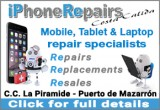 Fix your broken mobile, laptop or tablet with iPhone Repairs Costa Calida in Puerto de Mazarrón