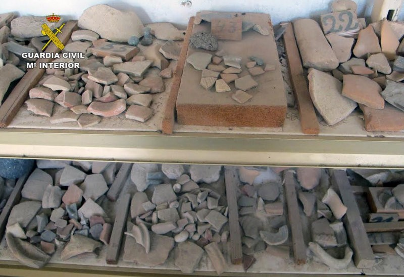 <span style='color:#780948'>ARCHIVED</span> - 50,000 archaeological relics recovered in Murcia and Torre Pacheco