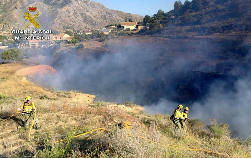 <span style='color:#780948'>ARCHIVED</span> - Galifa wild fire started by domestic bonfire