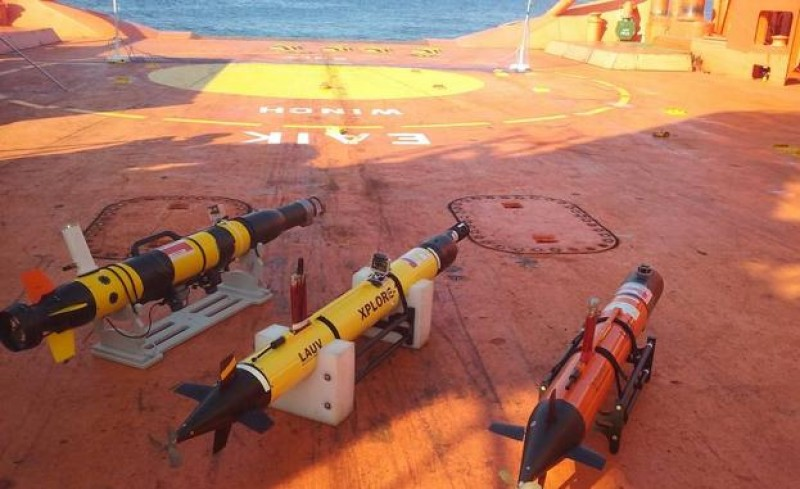 <span style='color:#780948'>ARCHIVED</span> - Drones form part of seabed fuel spillage detection exercise off the Cartagena coast