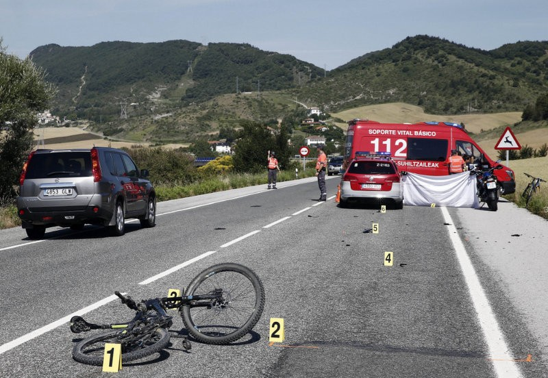 Another Alicante cyclist mown down on the N-332 in Oliva