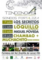 28th July Chambao in Lorca Castle Tendencias Lorca Summer Fest 2017