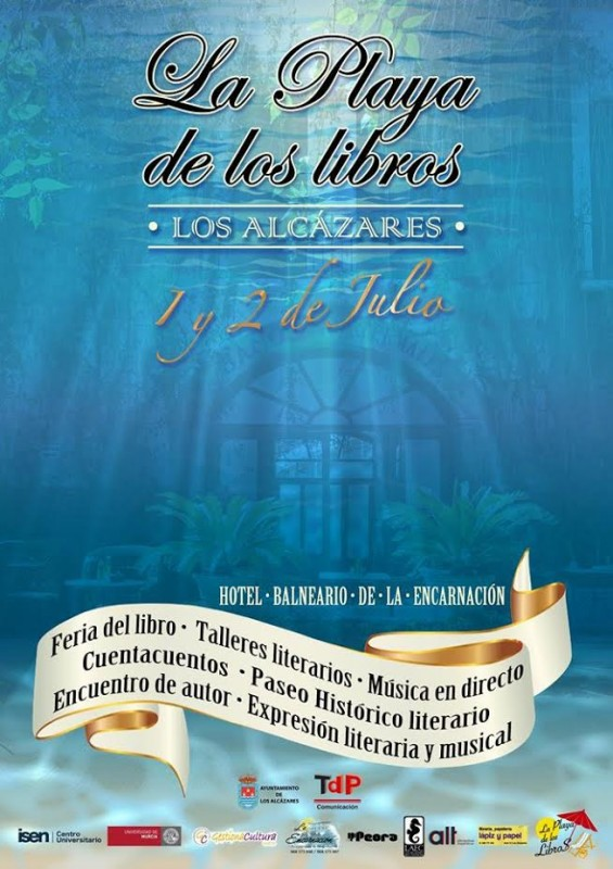 1st to 2nd July Playa Libros literary weekend in Los Alcázares