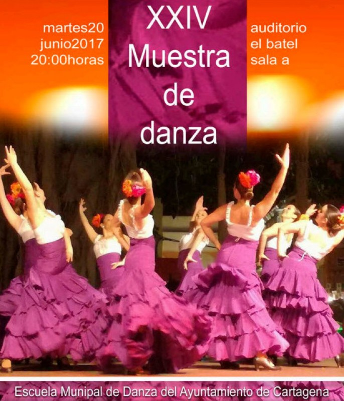 20th June municipal dance school dance display Cartagena