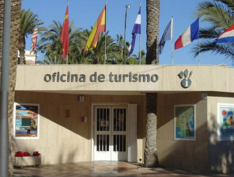 Murcia today the tourist office in aguilas for Oficina turismo andalucia