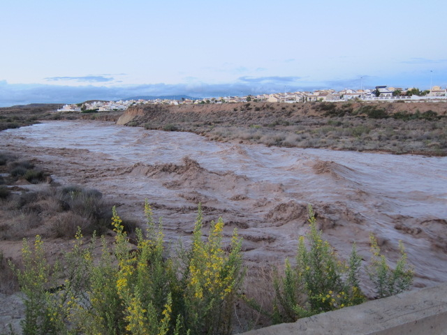 <span style='color:#780948'>ARCHIVED</span> - Flood death toll rises to 8 in Murcia and Almeria floods