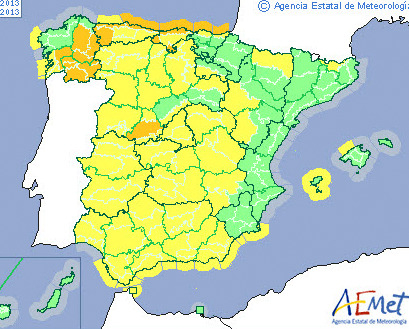 Murcia Today - Murcia Clear Of Weather Alerts With Temperatures ...