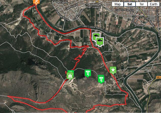 Walking Routes Cieza, the PR MU-11, to Medina Siyasa