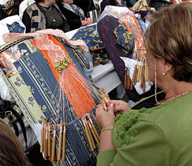 Lacemaking in Cieza