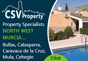 CSV Property Services Cehegin Murcia