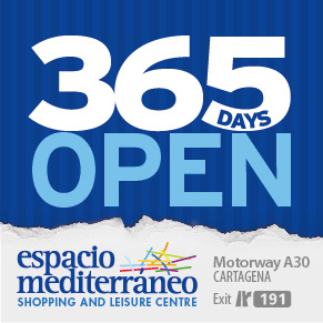 Espacio Mediterraneo shopping centre Cartagena Murcia