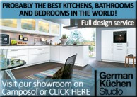 German Kuchen Studio Kitchens Bedrooms and Bathrooms