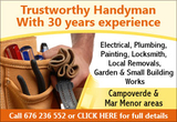 KT Property Maintenance for Electrical, Plumbing and Building Maintenance.