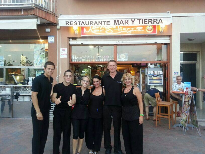 Mar Y Tierra Café Bar and Restaurant Puerto de Mazarron