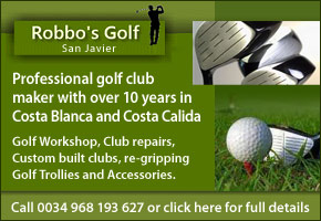 Robbo's Golf Workshop San Javier Murcia