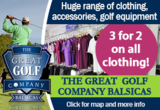 Discounted Green Fees and Golf Store – The Great Golf Company