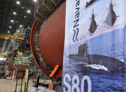 Navantia announce delays in the S-80 submarine programme