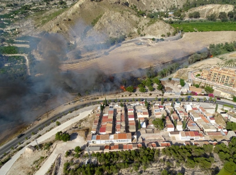 <span style='color:#780948'>ARCHIVED</span> - Three wild fires in two days in the Region of Murcia