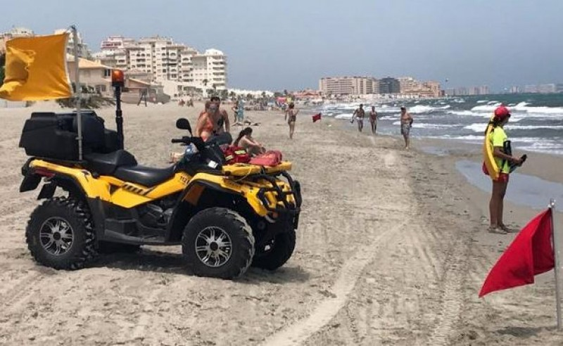 60-year-old saved by La Manga lifeguards