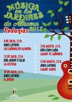 22nd July free concert in La Costera Alhama de Murcia