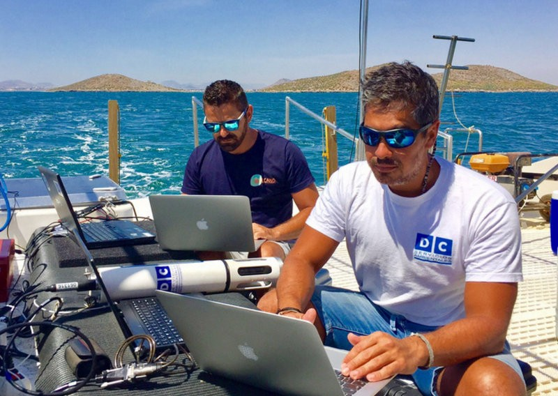 Oceanographers complete third current and ecology study in the Mar Menor