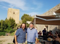 The Hairy Bikers cook up a few hot dishes in Lorca castle