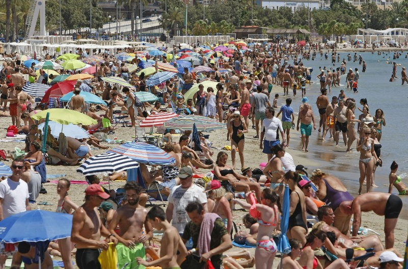 Over 25 per cent of all visitors to Spain in May were from the UK