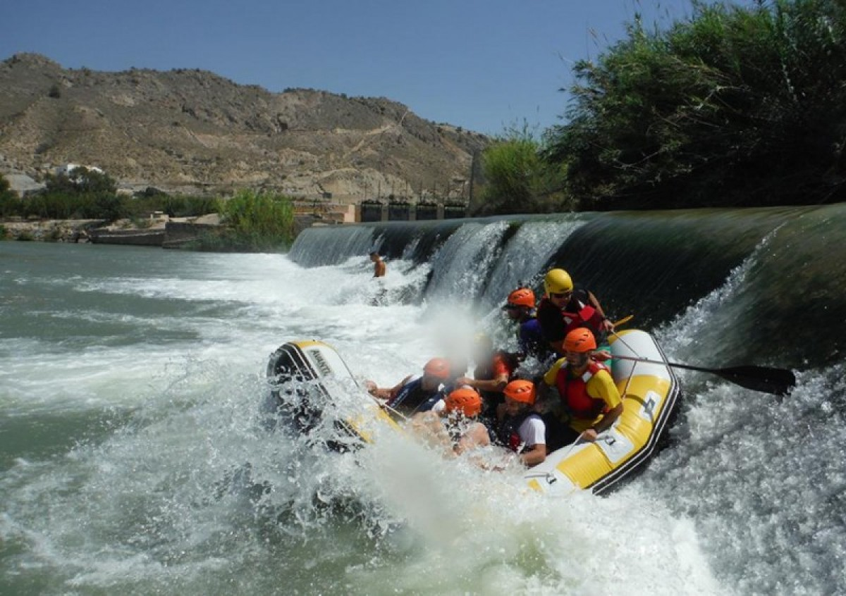 Rafting, bungee jumping, canyoning, ziplining in Calasparra and Cieza