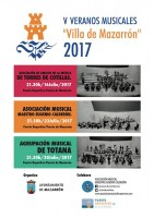 30th July free band concert in the Puerto de Mazarrón
