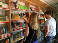 Bibliobús in Santiago de la Ribera every Tuesday during July and August