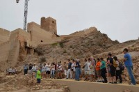 17th August evening tour of Alhama de Murcia Castle