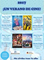8th and 9th August free open-air cinema in Torre Pacheco and Dolores de Pacheco