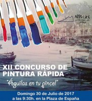 30th July Águilas open-air painting competition