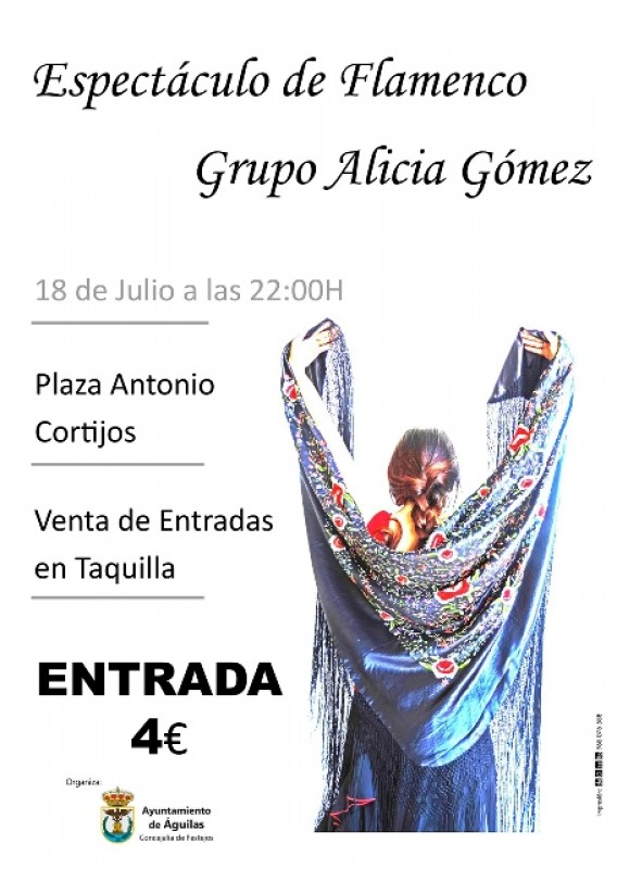 18th July Flamenco spectacular in Águilas