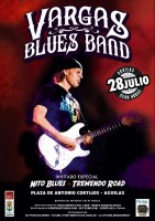 28th July The Vargas Blues Band in Águilas