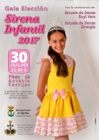 30th July Gala to choose the Sirena Infantil in Águilas